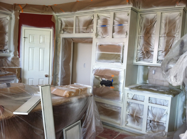 how to refinish painted kitchen cabinets cabinet refinishing denver 17313